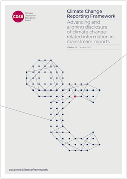 CDSB Climate Change Reporting Framework