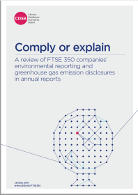 UK mandatory GHG and environmental reporting | Climate